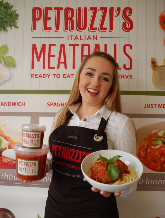 Belfast based start-up company Petruzzi's® Meatballs to Launch at London's International Food Exhibition 17-20th March.