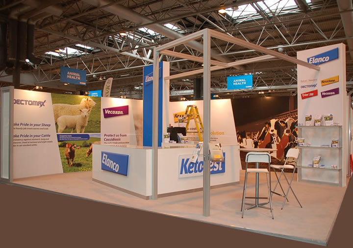 Exhibition stand build, Livestock 2013 headline image