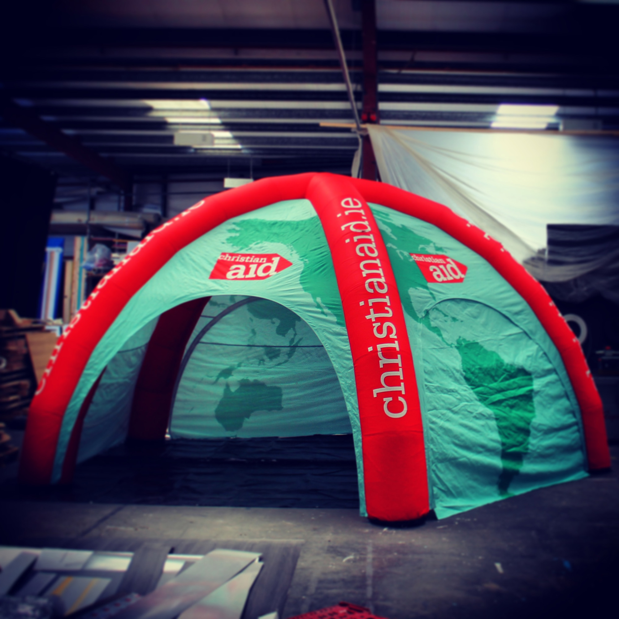 inflatable outdoor event solution