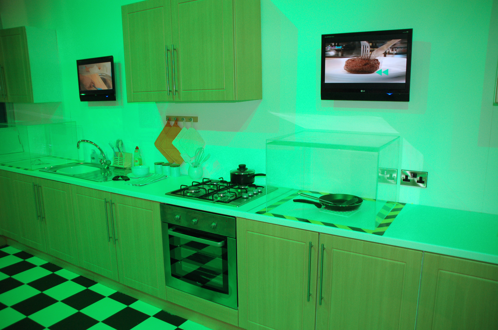 Experiential, exhibition, showcase kitchen