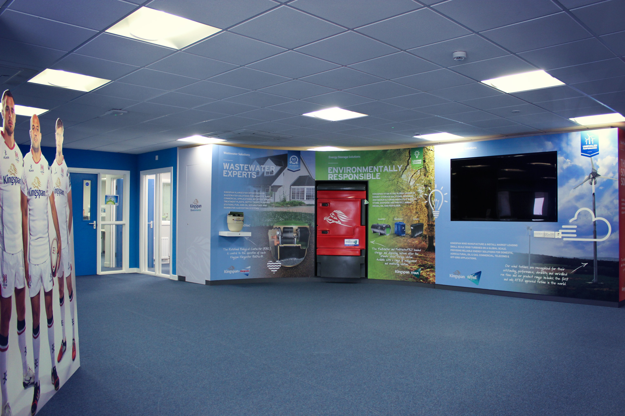 Kingspan interiors Fit out
