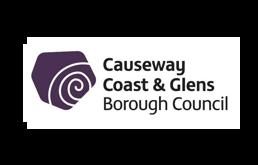 DesignCo Client Causeway Coast & Glens Borough Council logo