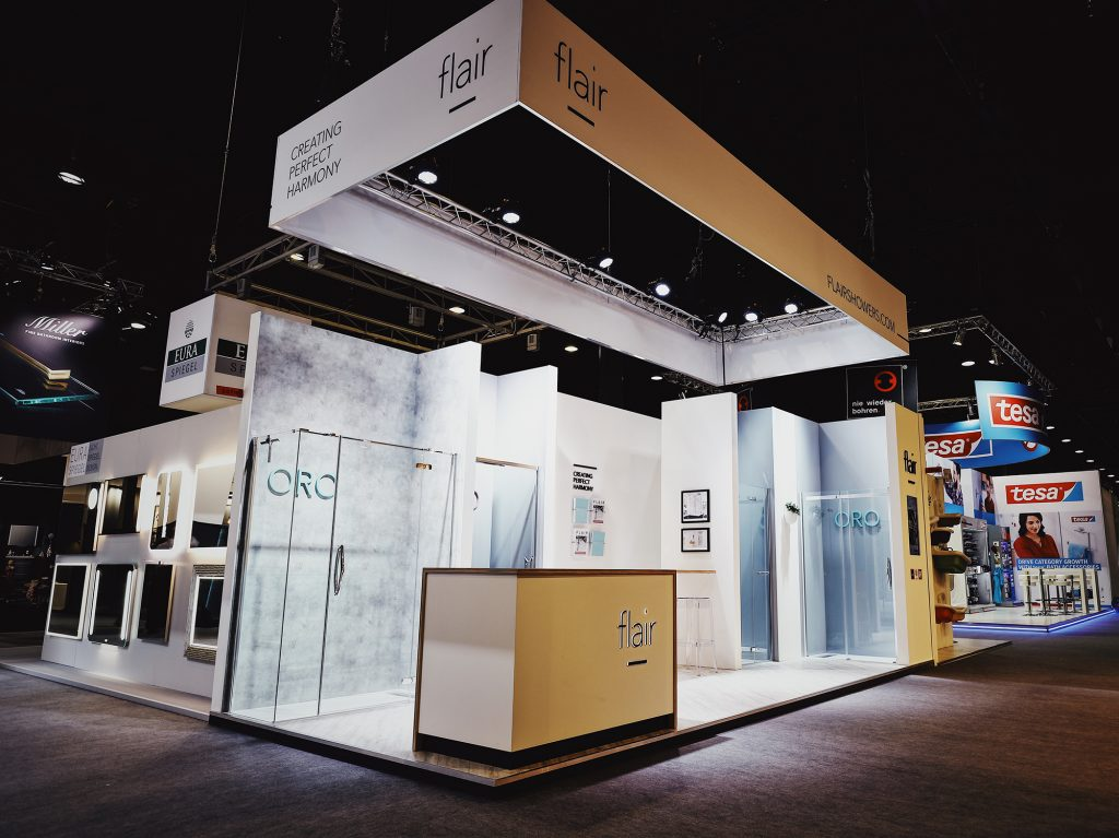 Flair Showers Exhibitions